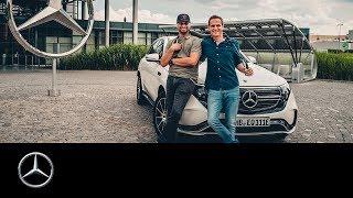 JP Kraemer und Matthias Malmedie: Ausfahrt im EQC