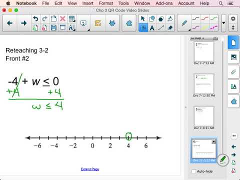 Solve & Graph One Step Inequality with Addition