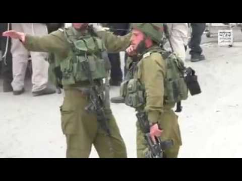 israeli soldier eliminates a muslim terrorist