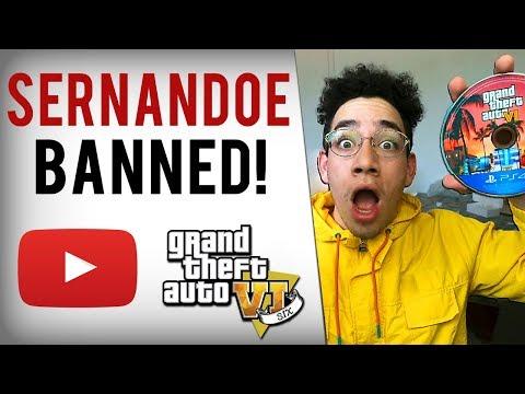 SERNANDOE BANNED...Youtube Cracking Down On GTA 6 Videos?