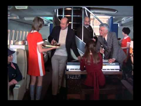 Now THIS is first class flying - Columbo