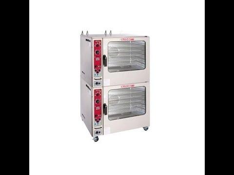 Commercial Combo Ovens - Blodgett-combi-oven-steamer-bcx-14g - YouTube