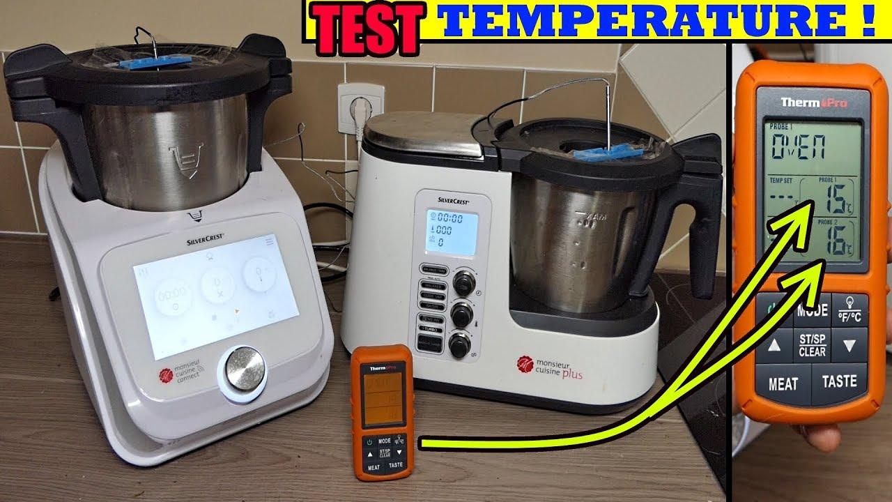 monsieur cuisine connect et monsieur cuisine plus controle des temperatures