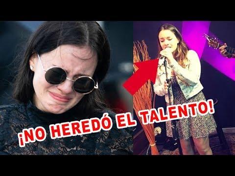 Así de FE0 canta Sarita Sosa – NO heredó el talento de José José