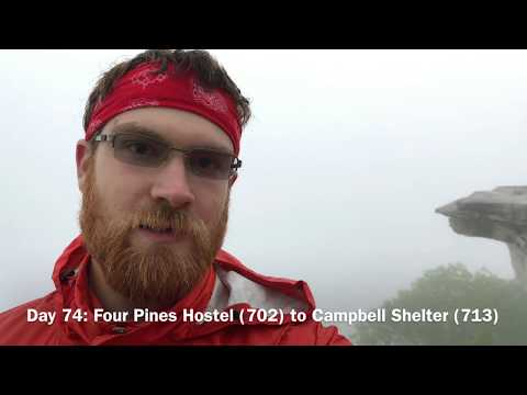 Damascus, VA (469) to Troutville, VA (730) Appalachian Trail Thru-Hike 2017