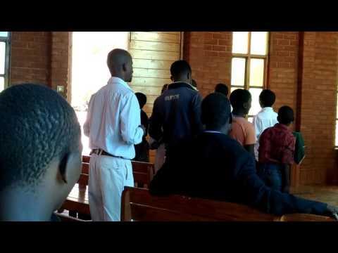 Crown of Life Lutheran Church Youth Choir pt  1