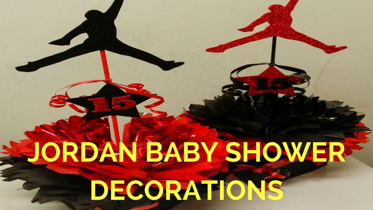 Jordan Baby Shower Decorations Youtube
