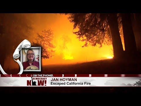 """""""Everything was on Fire"""": CA Resident Describes Fleeing 30-Foot-High Flames Surrounding Her Ranch"""