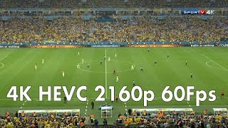 4K HEVC H.265 2160p 60Fps TV Fifa World Cup 2014