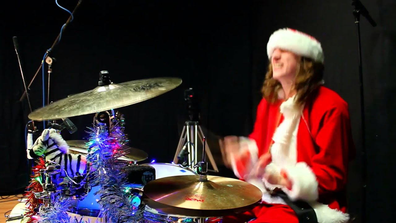 Kev Hickman - Rage Against The Machine - Killing In The Name (Drum Cover) Christmas Special ...