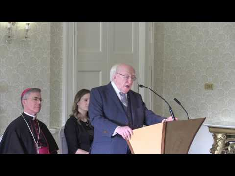 Speech by President Higgins at the Diplomatic Corps 2017 New Year's Greeting Ceremony