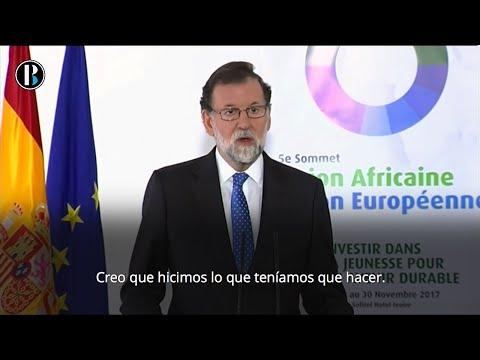 """Rajoy defiende el 155 y asegura que es """"lo menos"""" que se podía hacer"""