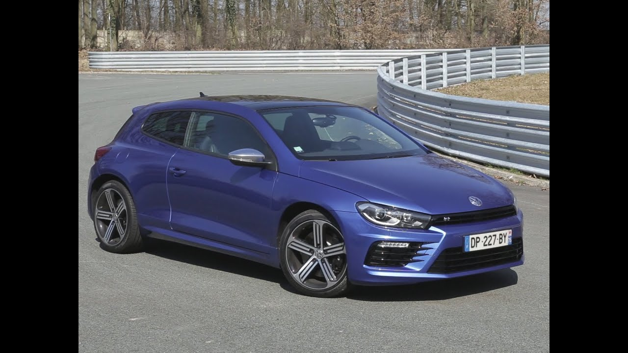 essai volkswagen scirocco r 2015 youtube. Black Bedroom Furniture Sets. Home Design Ideas