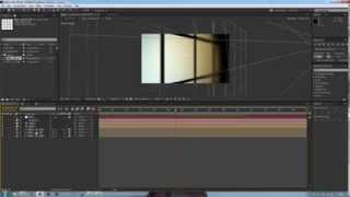 After Effects Tutorial - Content rotating wall