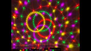 Đèn led 7 màu  chớp theo nhạc có màn hiển thị, quạt làm mát, để trang trí phòng... Lh 0982826628