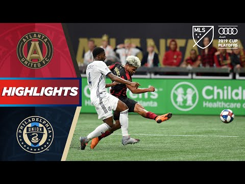 Atlanta United Vs. Philadelphia Union | Two Goals With AMAZING Finishing! | PLAYOFF HIGHLIGHTS