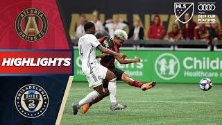 Atlanta United vs. Philadelphia Union   Two Goals with AMAZING Finishing!   PLAYOFF HIGHLIGHTS