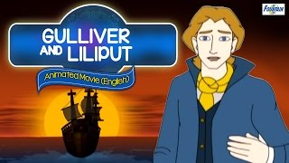 Gulliver And Lilliput Full Movie (English) - Kids Favorite Animated Story