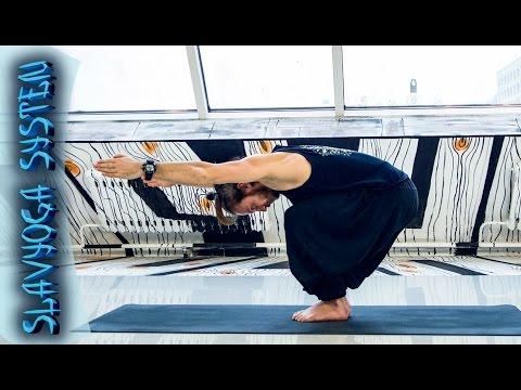 Занятие по йоге 🌻 Динамический комплекс йоги от ⭐ SLAVYOGA