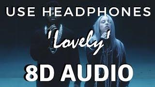Billie Eilish, Khalid - Lovely [8D AUDIO] 🎧 Video