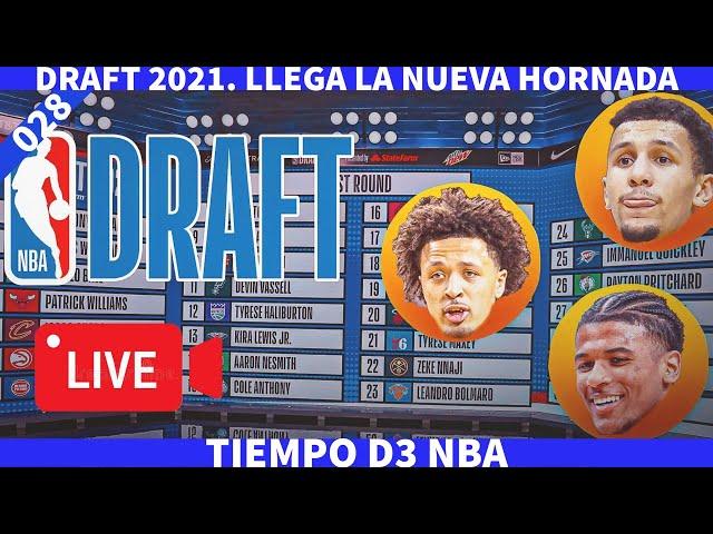 🔴 DRAFT NBA 2021. LLEGA LA NUEVA HORNADA(028)