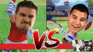 AngryJoe Plays Mario Tennis!