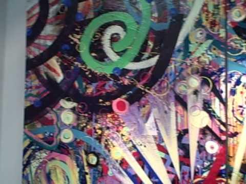 FLORA URBANA: Gilda Snowden New Work  at the Sherry Washington Gallery
