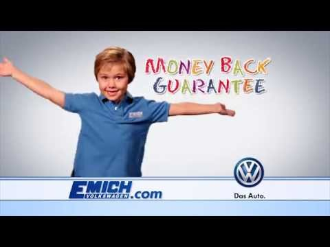 Emich VW Money Back Guarantee