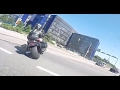 Exciting police motorcycle chase in Finland  a surprise ending