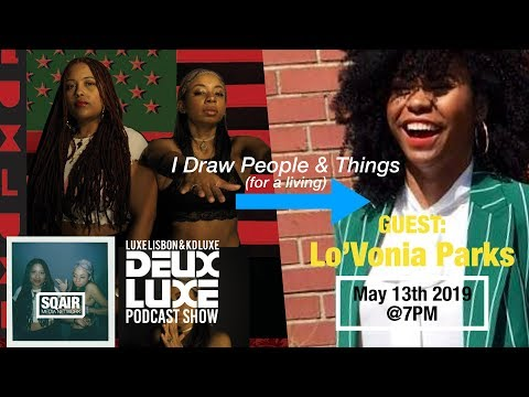 """I Draw People and Things (For a Living)"" 