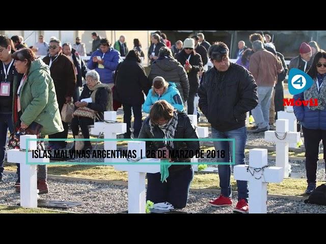 Malvinas: el viaje histórico de los familiares