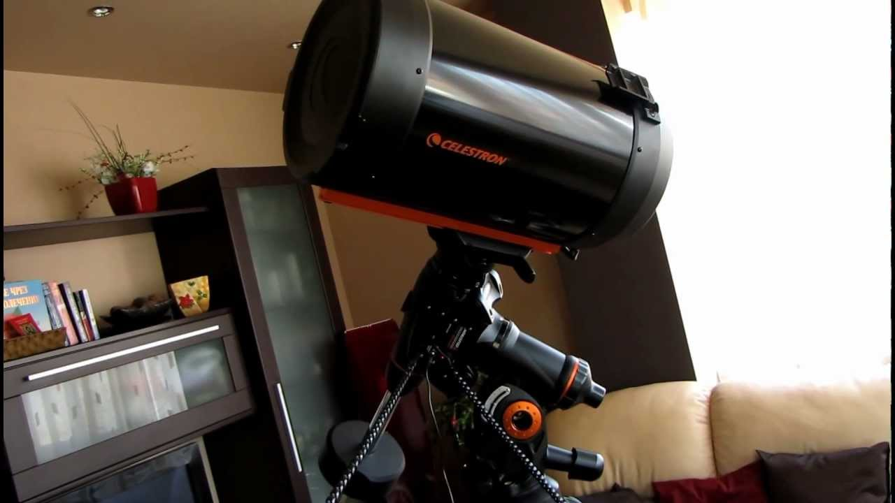 Celestron c11 xlt on cgem dx test youtube