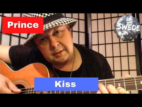 Prince - Kiss -  Super Funky Guitar Lesson Revamped