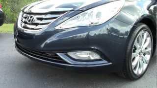 HOT Pearl Blue Hyundai Sonata SE Walk Around Interior Exterior Review