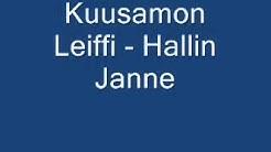 KAALEET KUUSAMON LEIFFI   HALLIN JANNE