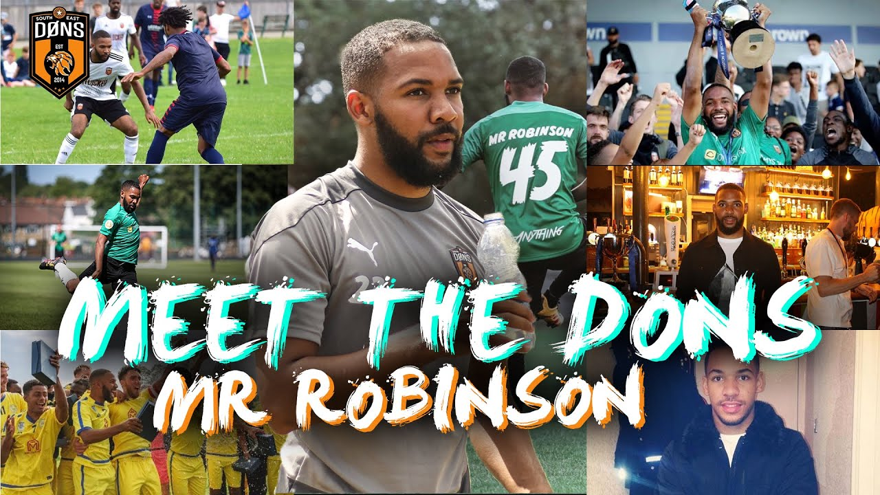 MEET THE DONS | MR ROBINSON 'Why I Joined The Dons'