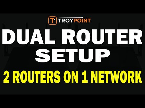 hook up routers