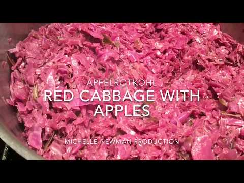 German Red Cabbage With Apples | Apfelrotkohl