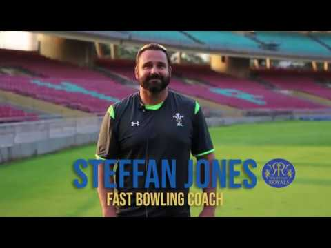 Interview with Steffan Jones - Rajasthan Royals' new fast bowling coach