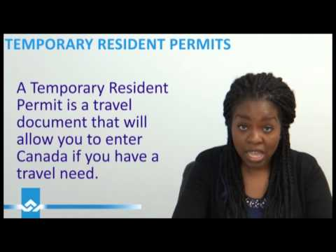 Temporary Resident Permits TRPs