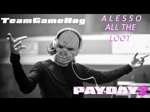 PAYDAY 2: The Alesso Heist, Death Wish, Stealth, All Bags, No Civ Kills (PC)