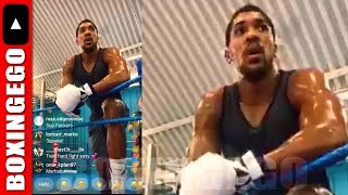 *LIVE EGO* EDDIE HEARNS & ANTHONY JOSHUA