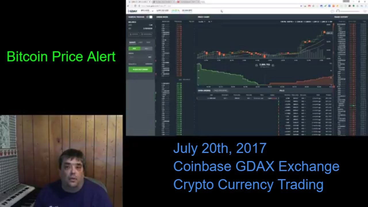 gdax cryptocurrency trading