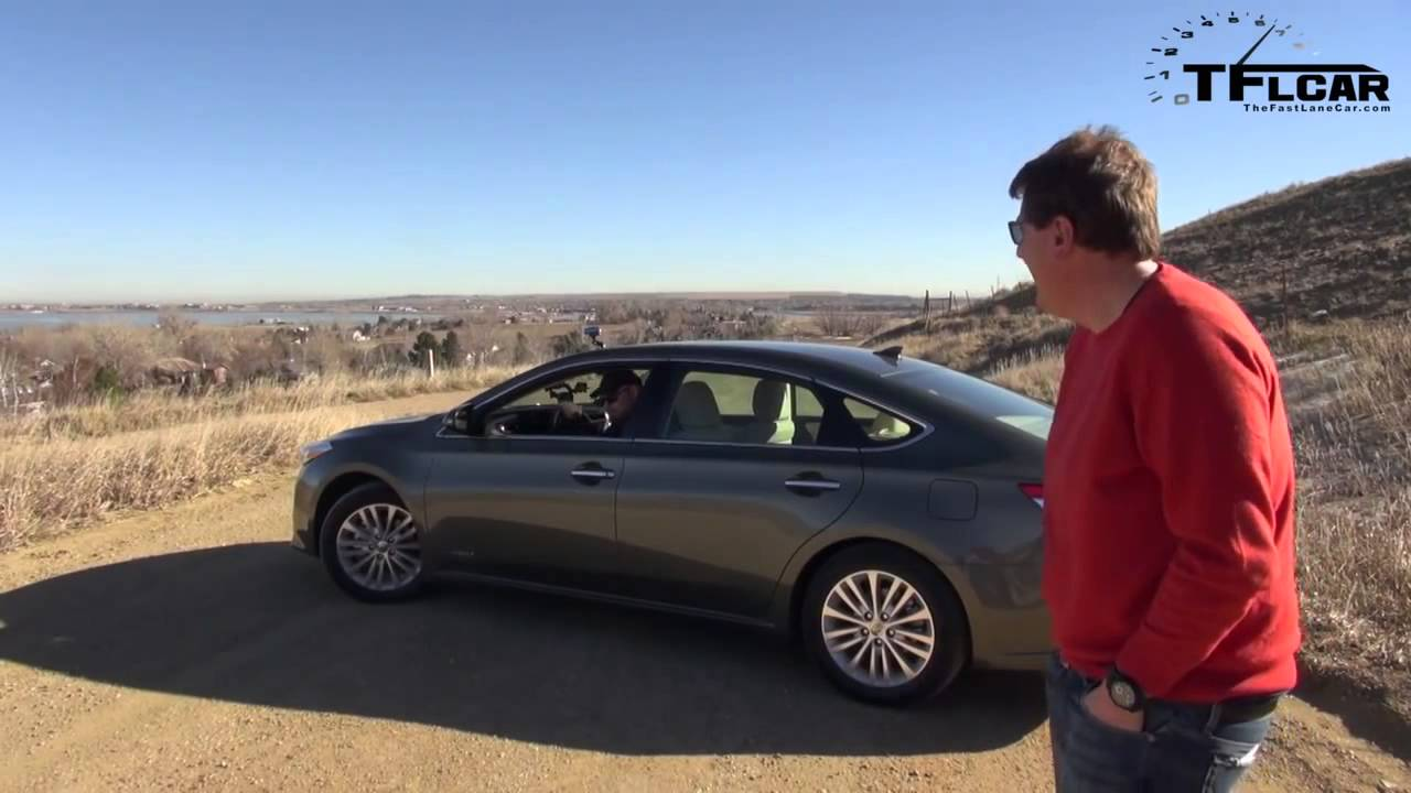 2017 Toyota Avalon Hybrid 0 60 Mph Quick Take Review