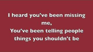 Play Video 'Rumor Has It - Adele (Lyrics)'