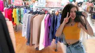 Thrift Shopping & Haul! FionaFrills Vlogs