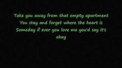 Empty Apartment Yellowcard Lyrics Video