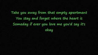 Empty apartment Yellowcard lyrics video