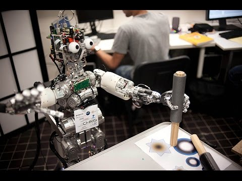 iCub  A Shared Platform For Research In Robotics & AI -  Part 9