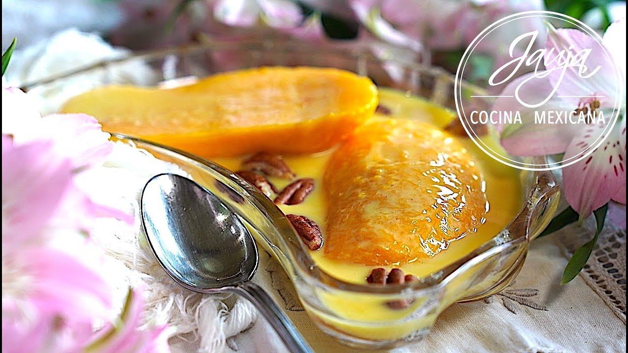Postre de Mango  ¿Cómo Algo Tan Fácil Puede Estar Tan Sabroso?